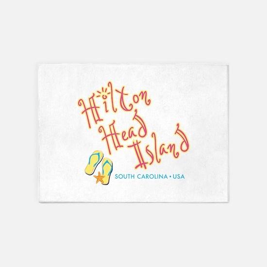 Hilton Head Island - 5'x7'Area Rug