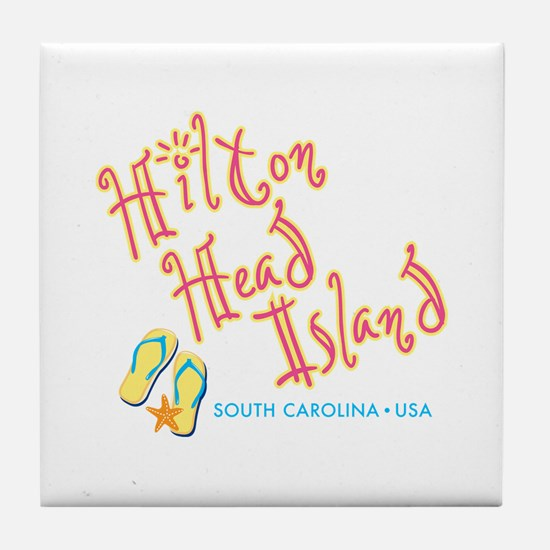 Hilton Head Island - Tile Coaster
