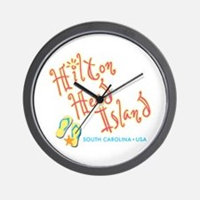 Hilton Head Island - Wall Clock