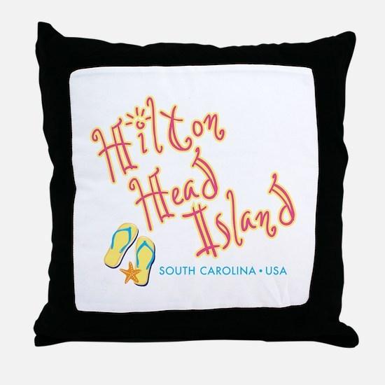 Hilton Head Island - Throw Pillow