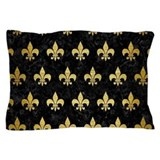 Black and gold Pillow Cases