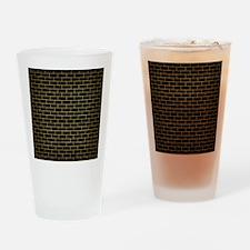 BRK1 BK MARBLE GOLD Drinking Glass
