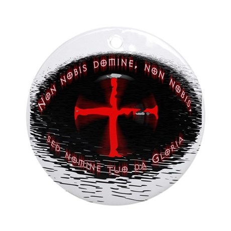 Templar Seal - Ornament (Round)