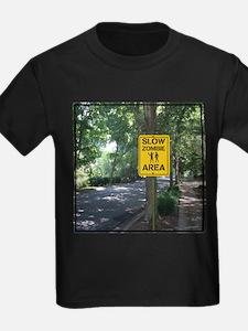 Slow Zombie Area T-Shirt