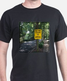 Slow Zombie Area T-Shirt