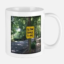 SLOW Snail X-ing Mugs