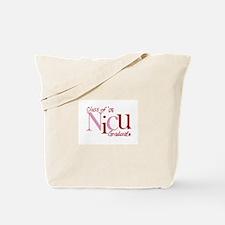 NICU Graduate 08 Girls Tote Bag