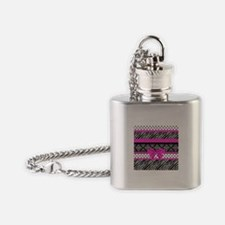Safari: Hot Pink Flask Necklace