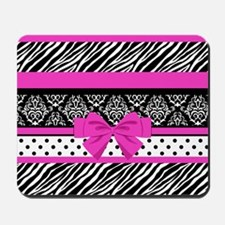 Safari: Hot Pink Mousepad