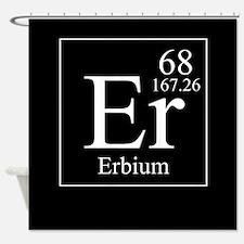 Erbium Shower Curtain