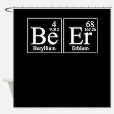 Beryllium Erbium Beer Shower Curtain