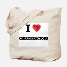 I love Chiropractors Tote Bag