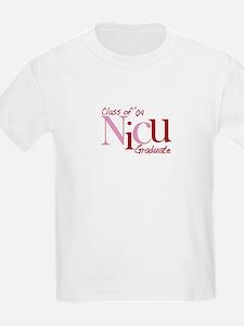 NICU Graduate 04 Girls T-Shirt