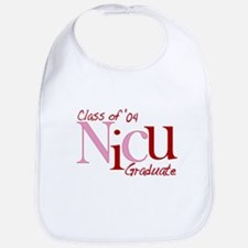 NICU Graduate 04 Girls Bib