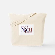 NICU Graduate 08 Boys Tote Bag