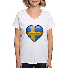 Sweden Heart Shirt