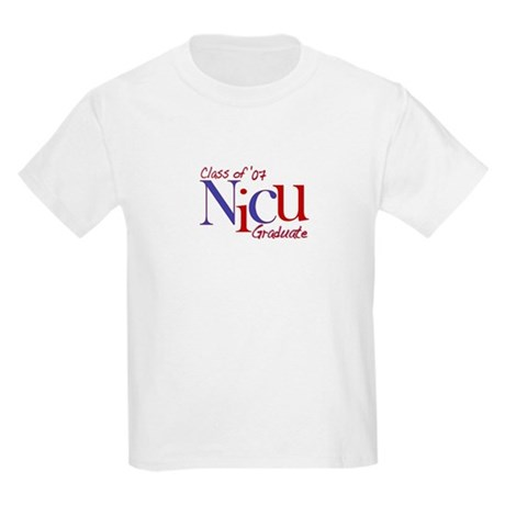 NICU Graduate 07 Boys Kids Light T-Shirt