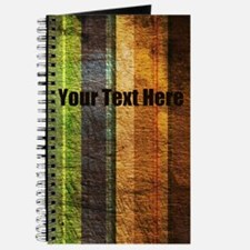 Personalized - Tattered Stripes* Journal