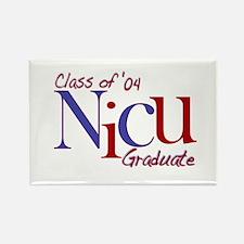 NICU Graduate 04 Boys Rectangle Magnet