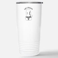 HeyLOLcatGrumpy.psd Travel Mug