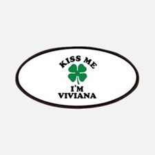 Kiss me I'm VIVIANA Patch