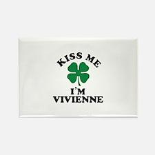 Kiss me I'm VIVIENNE Magnets