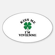 Kiss me I'm VIVIENNE Decal