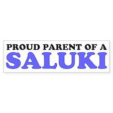 Proud Parent of a Saluki Bumper Sticker