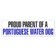 Proud Parent of a Portuguese Water Dog Bumper Sticker