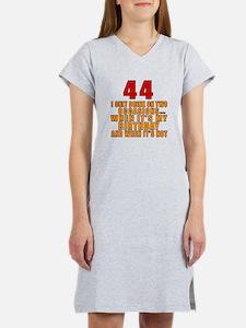 44 birthday Designs Women's Nightshirt
