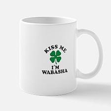 Kiss me I'm WABASHA Mugs