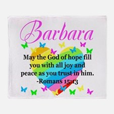HEBREWS 15:13 Throw Blanket