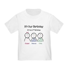 It's Our 2nd BDay - T