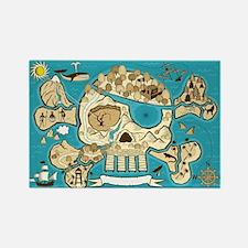 Treasure Map Magnets
