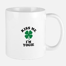 Kiss me I'm YOGIE Mugs