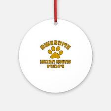 Awesome Ibizan Hound Mom Dog Design Round Ornament