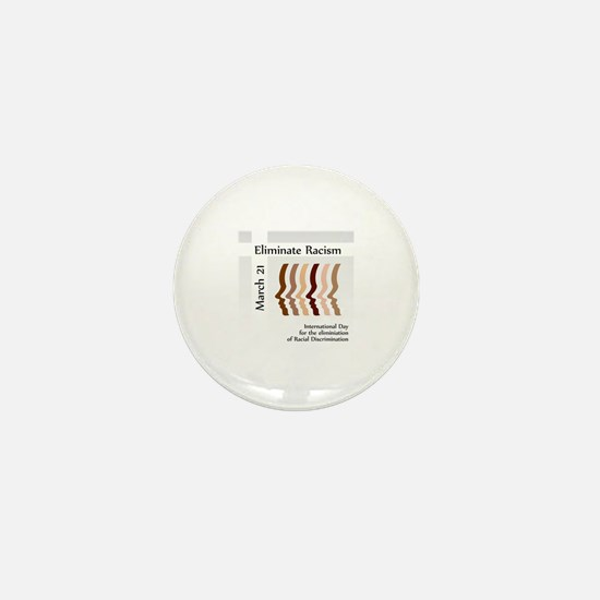 Cute Racial unity Mini Button