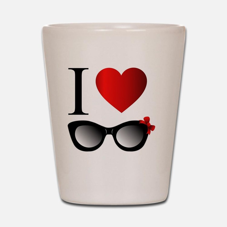 Cute Sunglasses Shot Glass