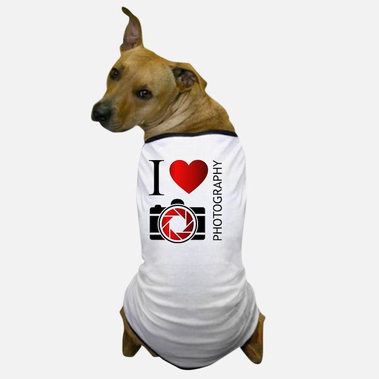 Cute Love technology Dog T-Shirt