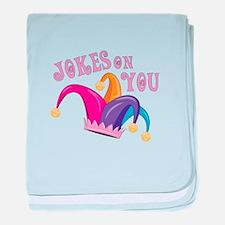Jokes On You baby blanket