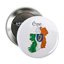 Ireland flag map Button