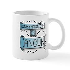 Blue Honeymoon Cancun Mug