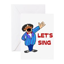 LET'S SING Greeting Cards (Pk of 10)