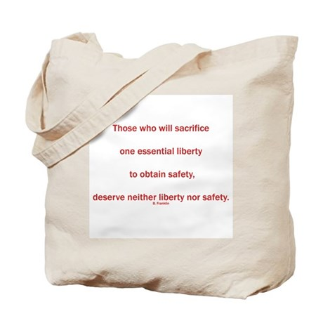 Freedom and Safety Tote Bag