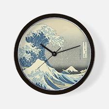 Vintage Samurai Warrior Wall Clock