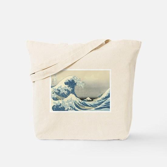 Vintage Samurai Warrior Tote Bag