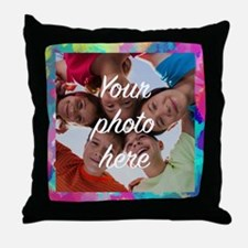 Custom Watercolors Frame Throw Pillow