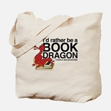 Cute Reading books Tote Bag