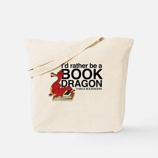 Cool Bookworm Tote Bag