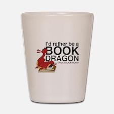 Book Dragon Shot Glass